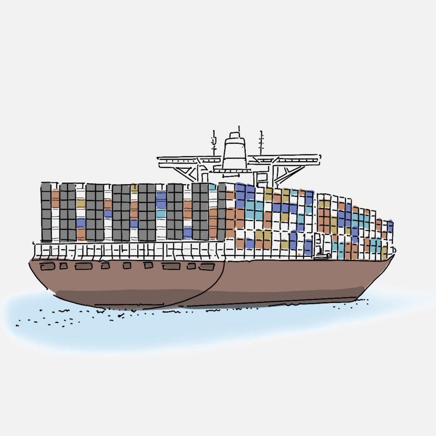 Container ship mobile coronavirus hospitals by Weston Williamson + Partners