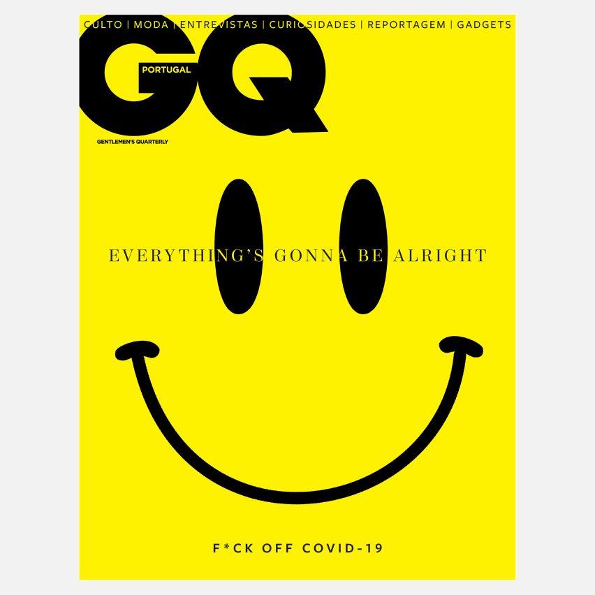 Coronavirus magazine covers