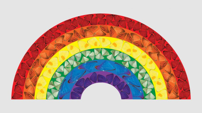 Damien Hirst creates Butterfly Rainbow artwork to raise money for the NHS during coronavirus crisis