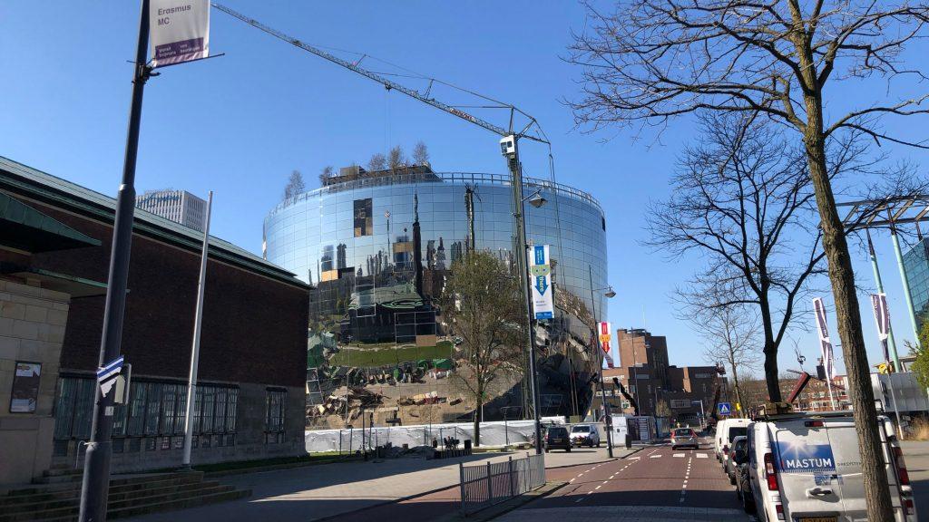 MVRDV's art depot for Museum Boijmans Van Beuningen nears completion