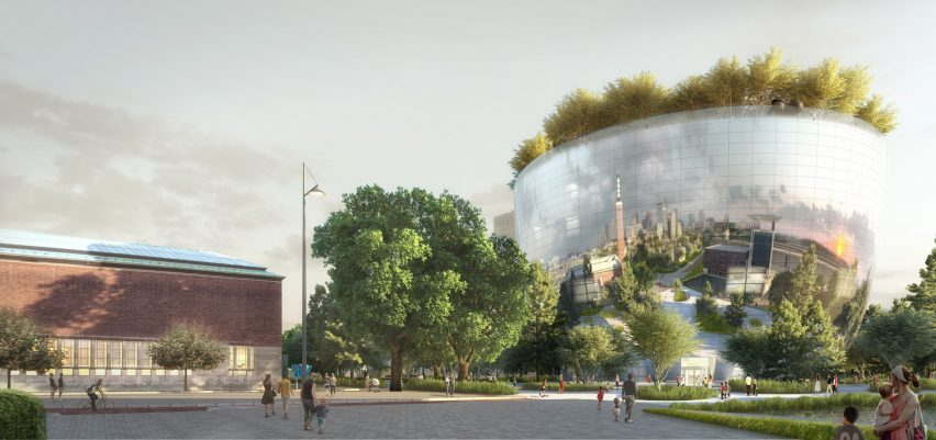 Depot Boijmans Van Beuningen by MVRDV render