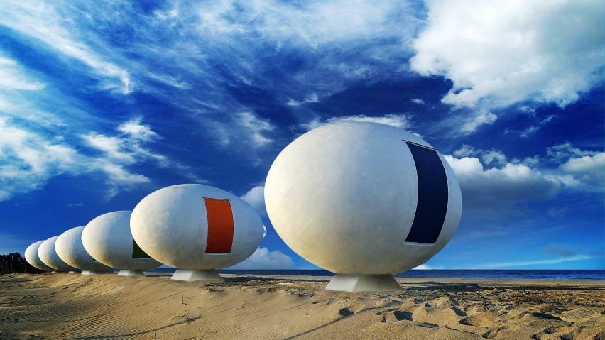 Eight egg-shaped buildings roundup