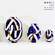 "Egg Vessels by Mari JJ Design act as ""conversation pieces"""