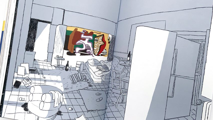 Architecture in comics Le Corbusier Eileen Gray – A House Under the Sun