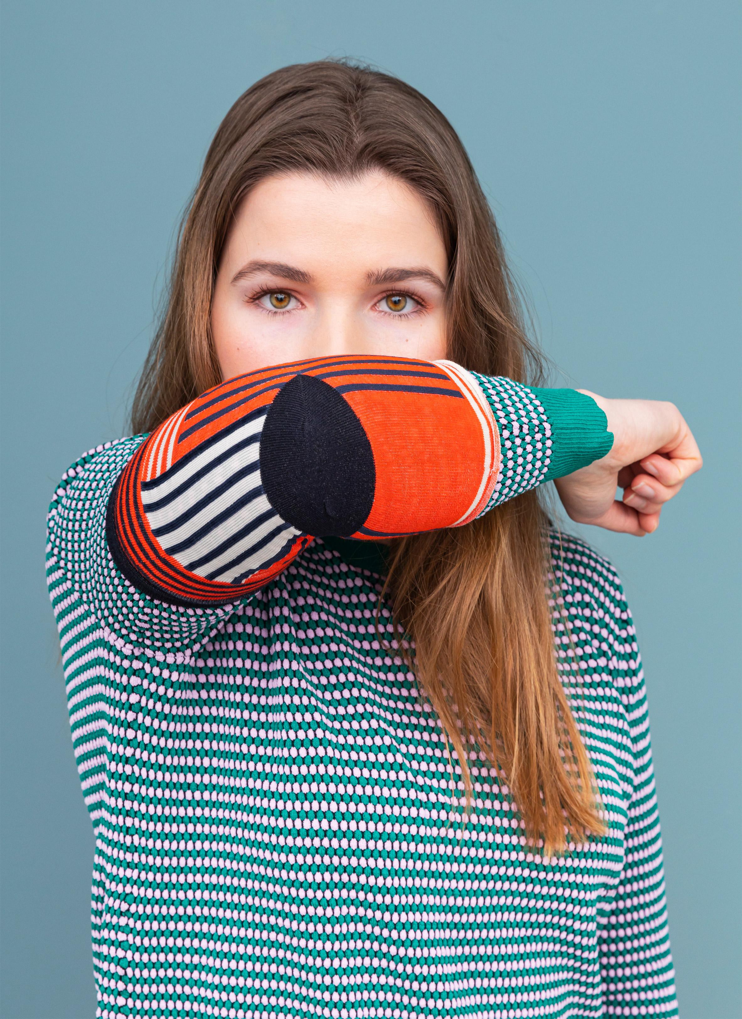 Elbow Sock for coronavirus by Raw Colour
