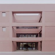 BDR Bureau gives 1960s Italian school a pastel pink makeover