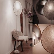 Jonathan Bocca marries marble with paper for Essenza lighting