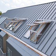 Fakro roof windows add light and outdoor space to attic apartments in Virginia