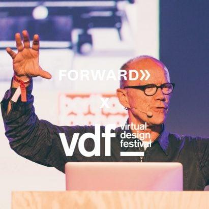 Erik Spiekermann at Forward Festival in Vienna