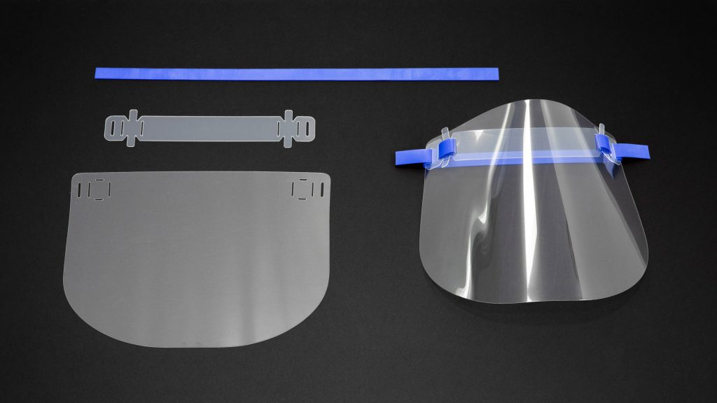Medical Clear Protective Eye and Face Shield Retail or Personal Use Dental