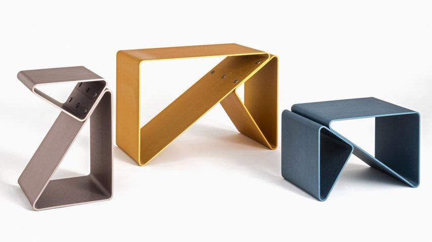 Frattinifrilli Trido stool for VDF x Ventura Projects