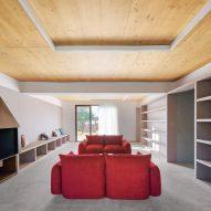 Gallery House by Raúl Sánchez Architects lounge
