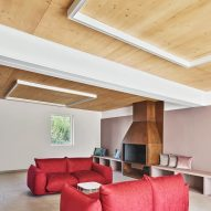 Gallery House by Raúl Sánchez Architects living room