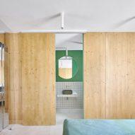 Gallery House by Raúl Sánchez Architects bedroom