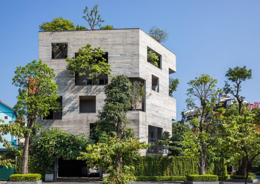 Ha Long Villa by Vo Trong Nghia Architects