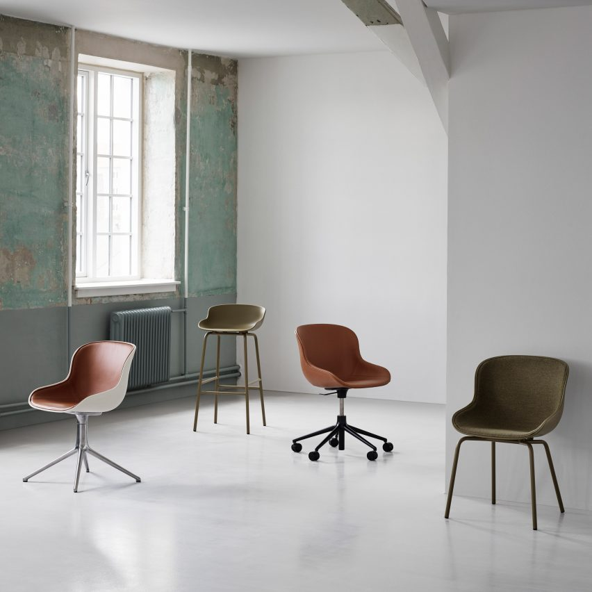 Home office furniture essentials: Hyg Chair Swivel by Simon Legald for Norman Copenhagen