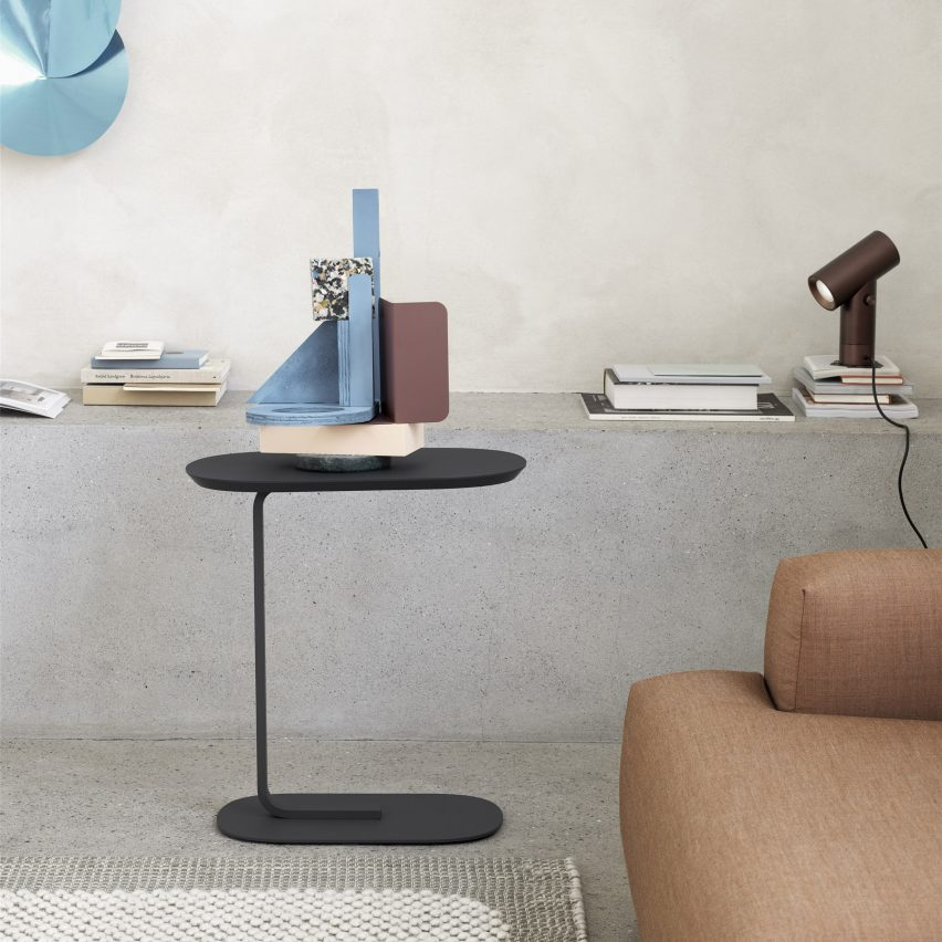 Home office furniture essentials: Relate Side Table by Big-Game for Muuto