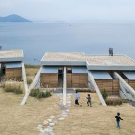 BCHO Architects merges seaside guesthouse with the landscape