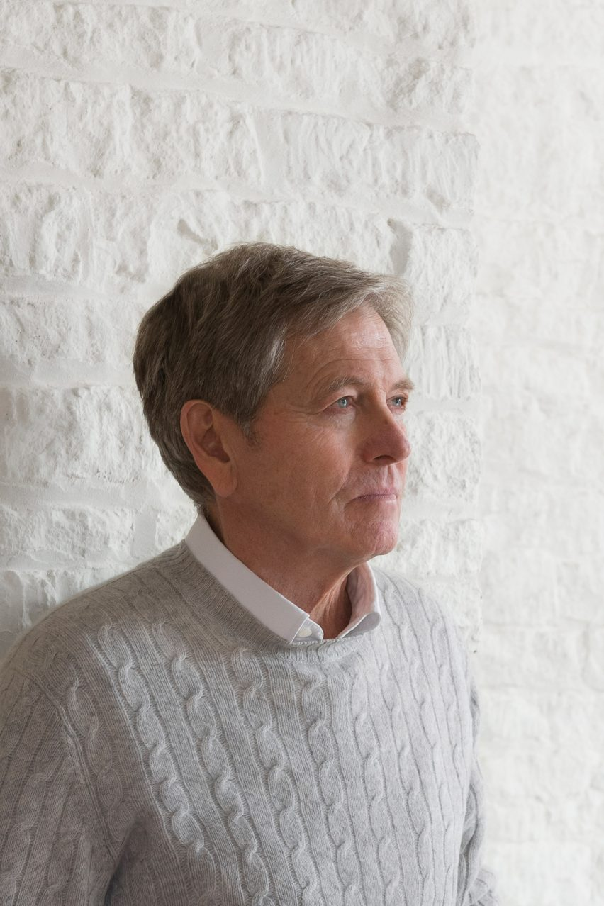 """I am irrational and the work stops me going mad"" says John Pawson in Dezeen's latest podcast"