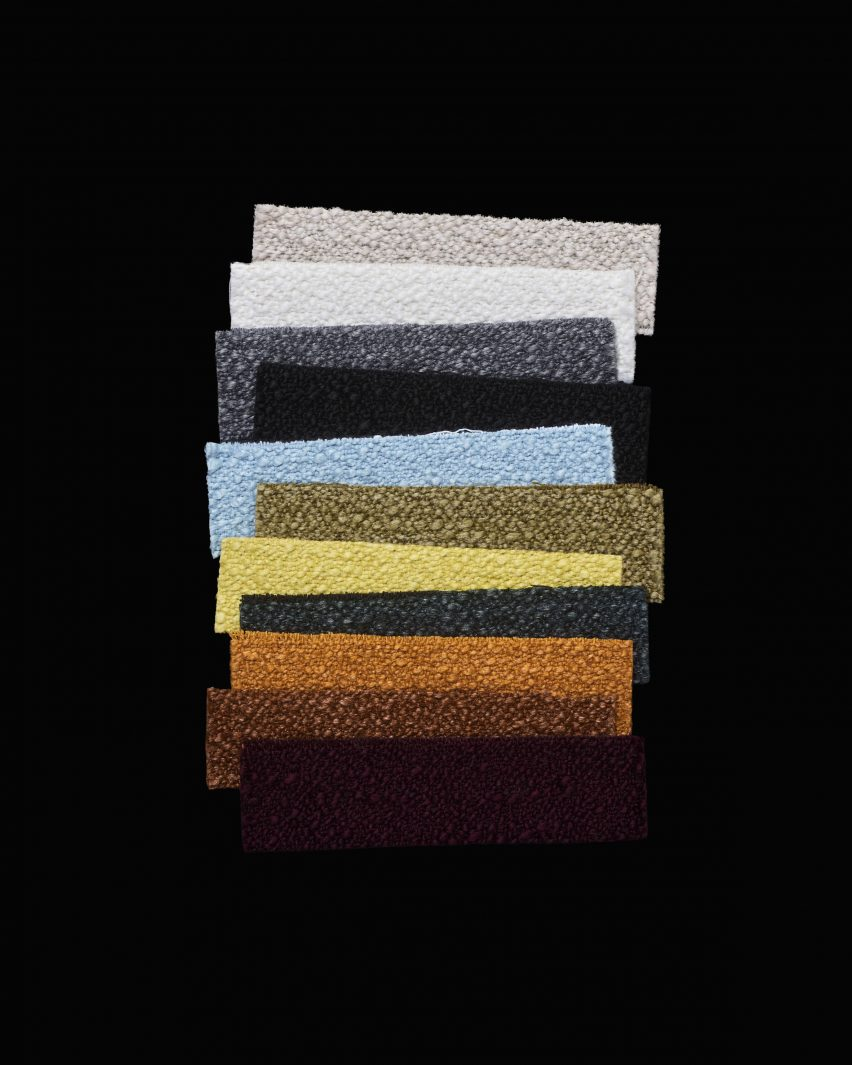 Helia, from the Kvadrat upholstery collection by Raf Simons