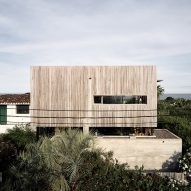 Alejandro Sticotti's holiday home in Uruguay teams weathered wood and textured concrete
