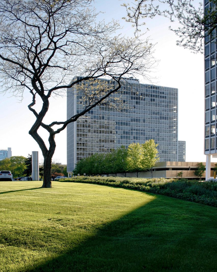 Lafayette Park by Mies van der Rohe