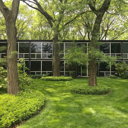 Lafayette Park by Mies van der Rohe