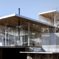 TAOA designs see-through walls for Landscape House in Beijing