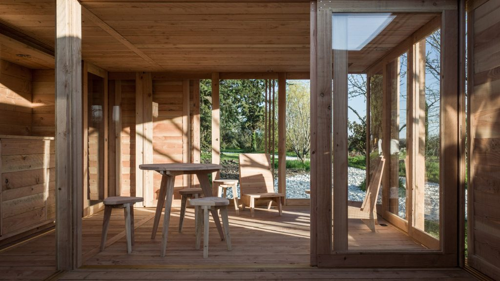 La Petite Maison Is A Tiny Guesthouse In France Made Out Of Wood