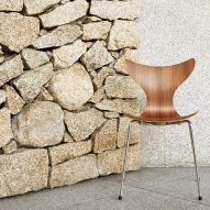 50th anniversary Lily chair by Arne Jacobsen for Fritz Hansen
