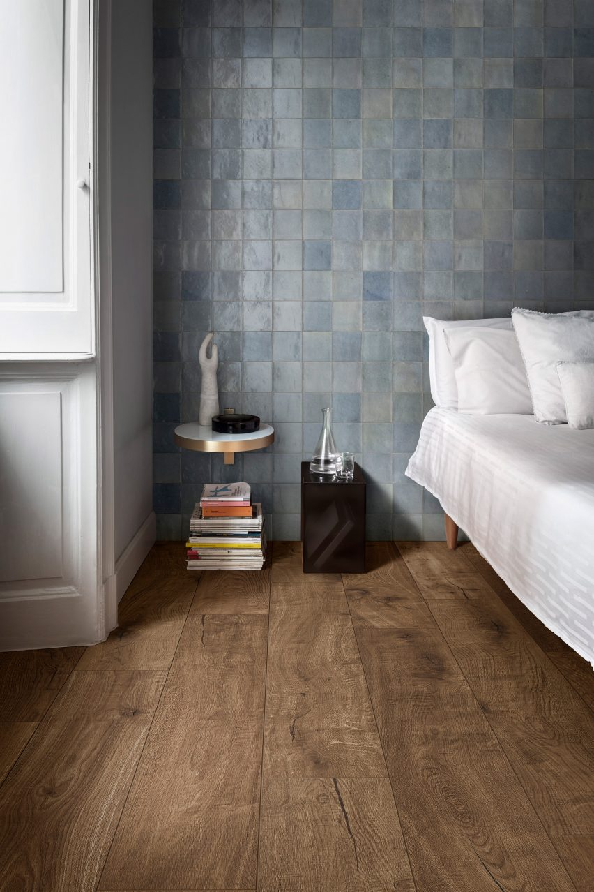 Marazzi updates its Crogiolo tile collection with designs that celebrate flaws
