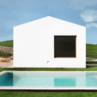 Minimal white buildings form Menorca house by architect Marina Senabre
