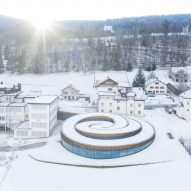BIG creates spiral museum for Audemars Piguet in the Swiss mountains