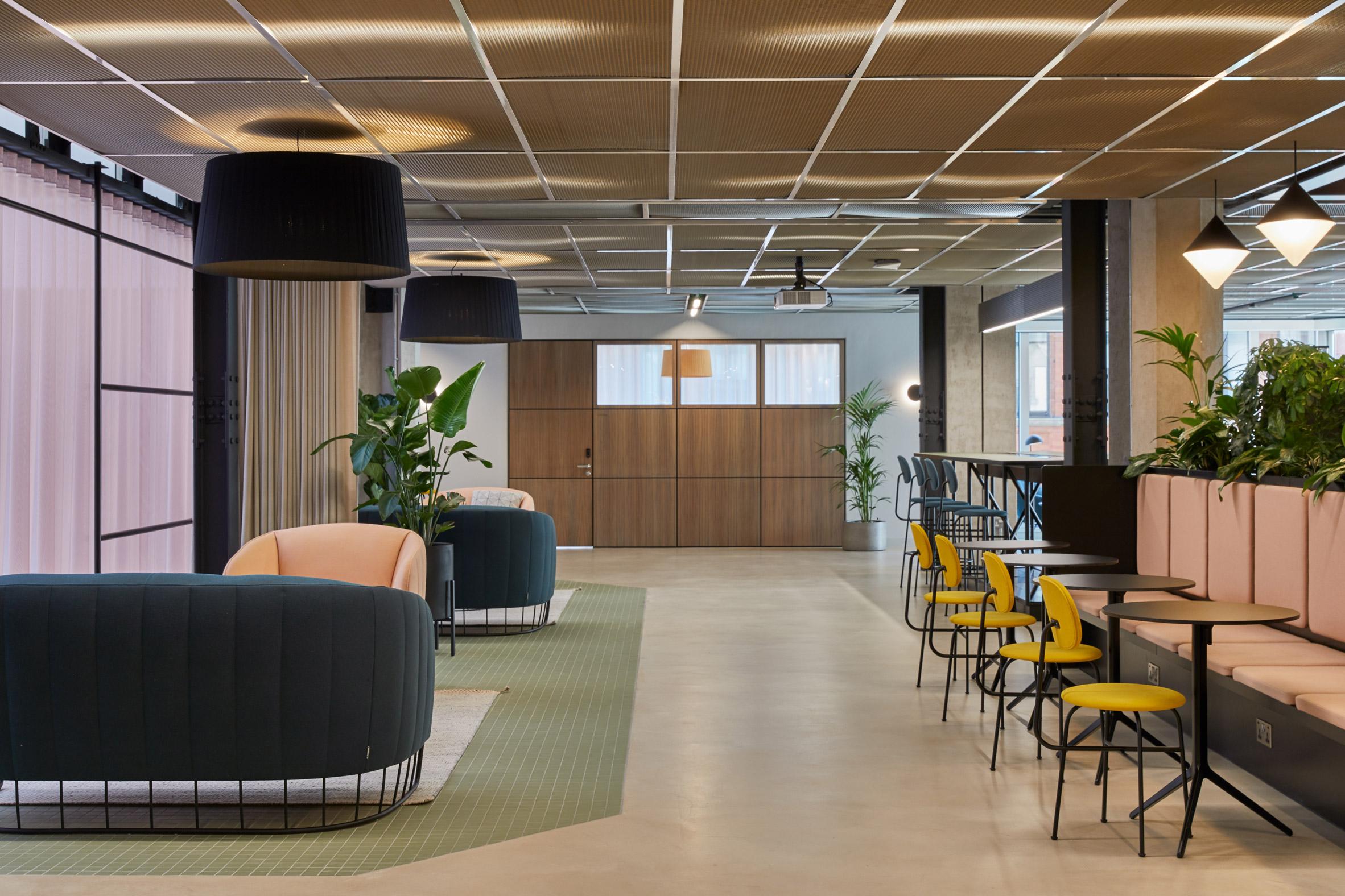 MYO office in 123 Victoria Street, designed by by Soda