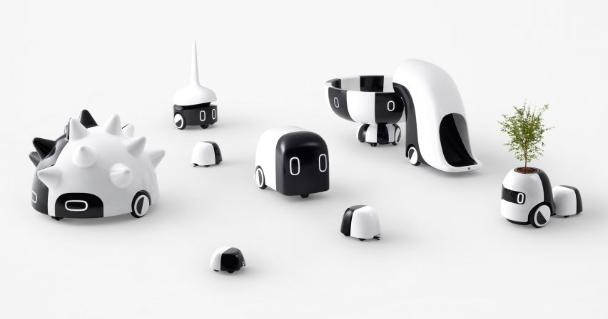 Nendo designs autonomous life-size playground equipment for children