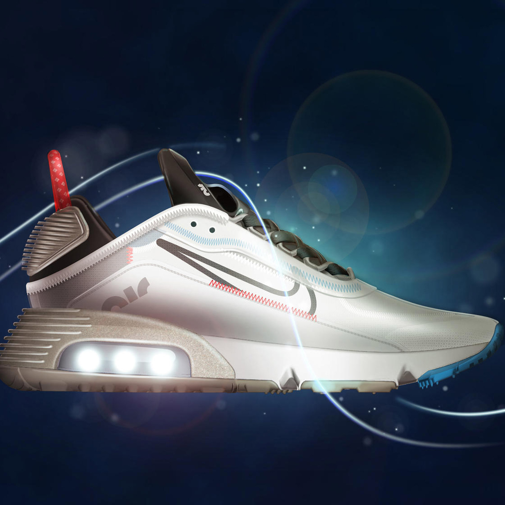 Destruction influenza groove  Nike designs Air Max 2090 to be