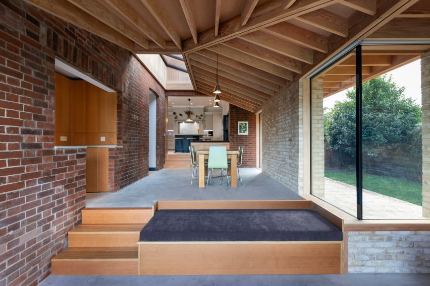 Flitch House by Oliver Chapman Architects