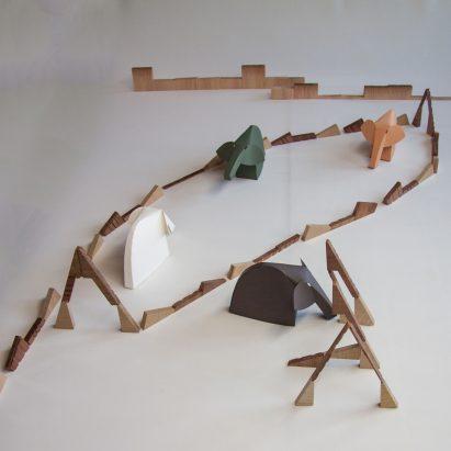 Paesaggio con figure by Passaro Edizioni for VDF x Ventura Projects