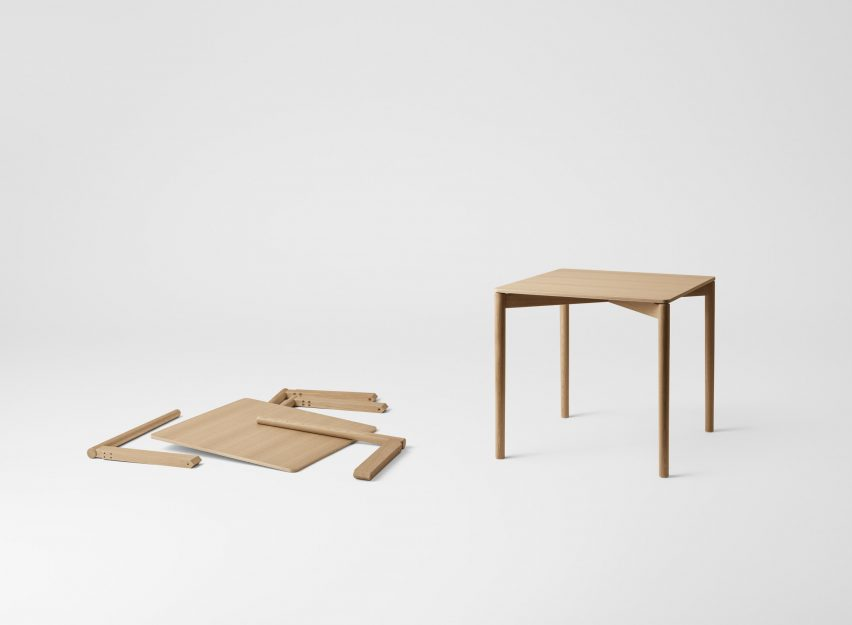The Cross Chair Table