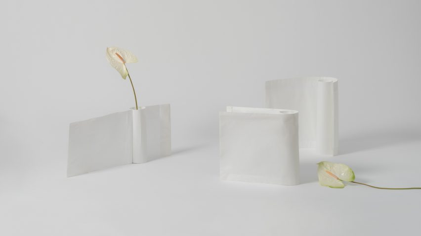VDF x Ventura Projects: Peel Vase by Alyssa.Marcela
