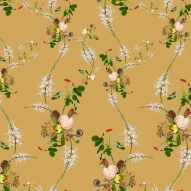Peony wallpaper from the Florescence collection by Superflower
