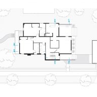 Rabbit House by Roth Sheppard First Floor Plan