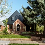 Roth Sheppard adds black metallic extension to 1930s Rabbit House