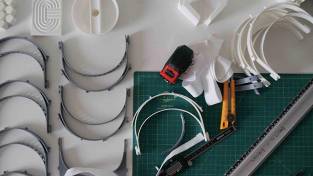 Five RISD graduates design face shields to protect against Coronavirus