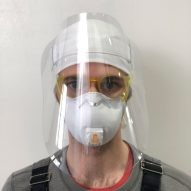 RISD graduates design face shields to protect against coronavirus