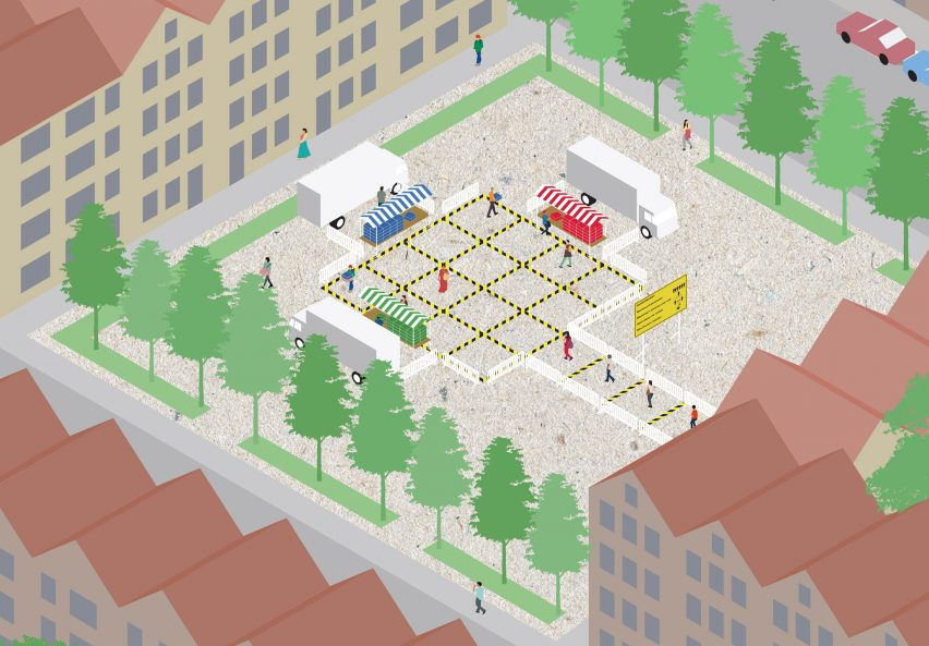 Hyperlocal Micro Markets by Shift Architecture Urbanism