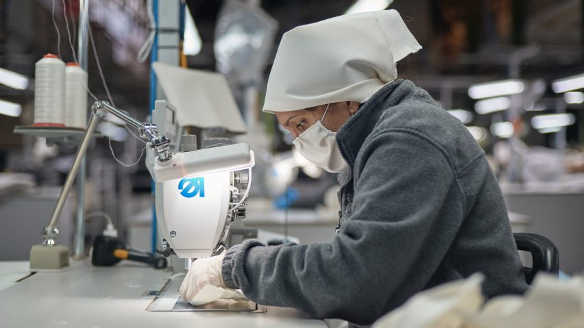 Andreu World makes masks as Spanish factories reopen during coronavirus pandemic