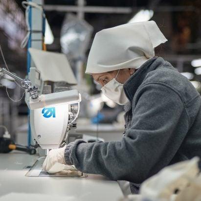 Andreu World makes masks as Spanish factories reopen during coronavirus pandemic