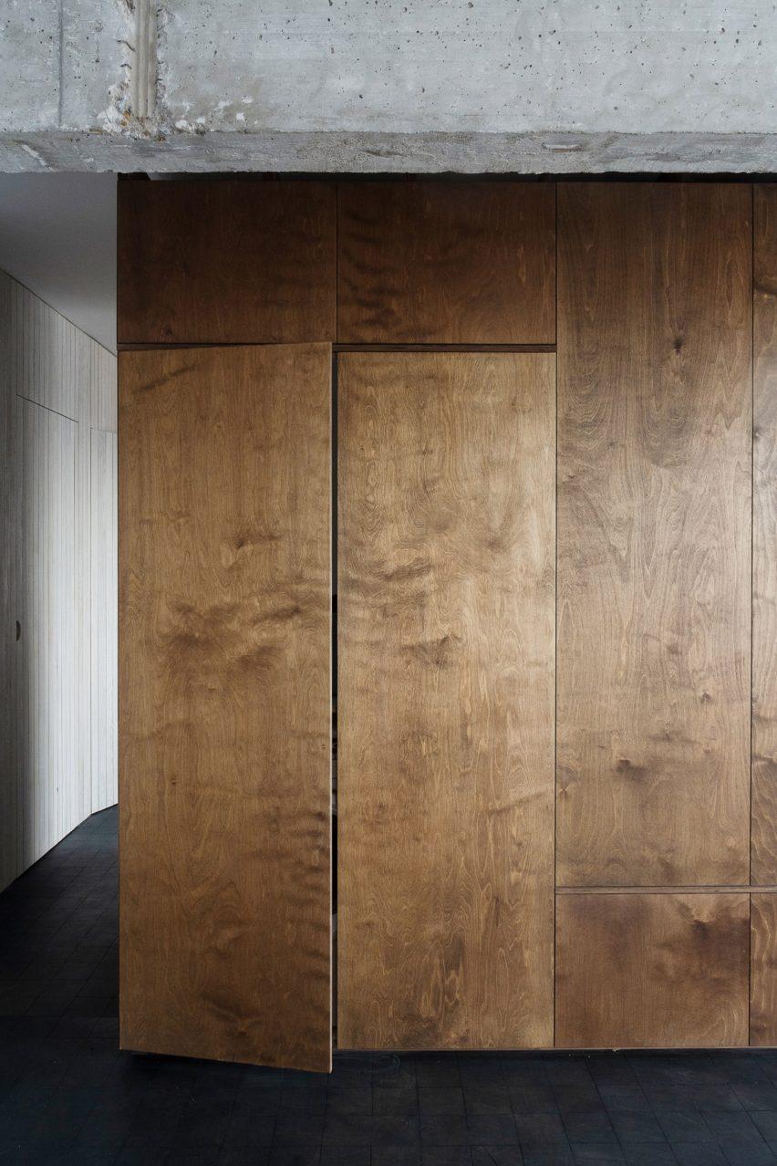Spinmolenplein apartment by Jürgen Vandewalle