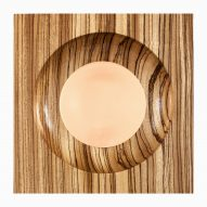 Fulvio Morella uses woodturner to shape Square the Circle plates
